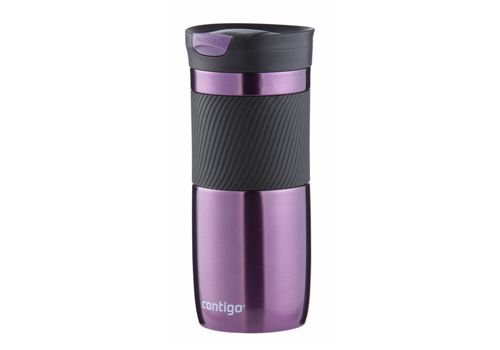Contigo Snapseal Byron 16 Bottle 470ml Purple Black At